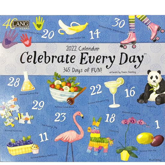 2022年ラングカレンダー「Celebrate Every Day」