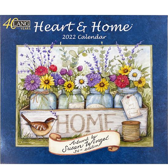2022年ラングカレンダー「Heart & Home」