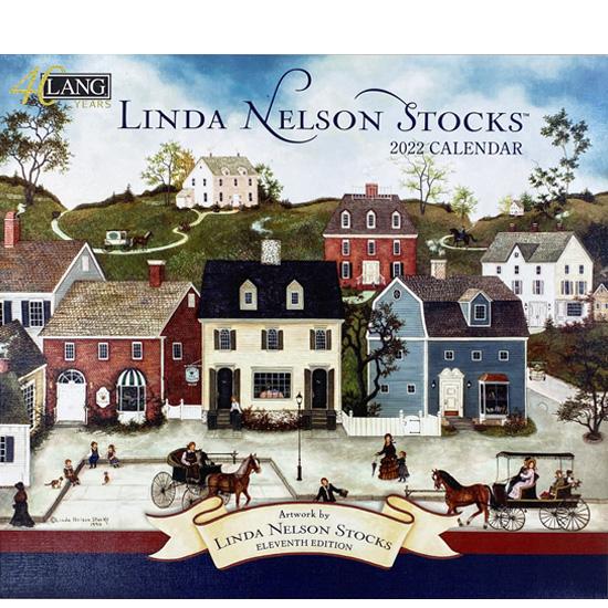 2022年ラングカレンダー「LINDA NELSON STOCKS」