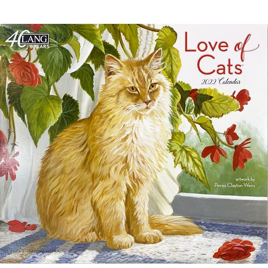 2022年ラングカレンダー「Love of Cats」