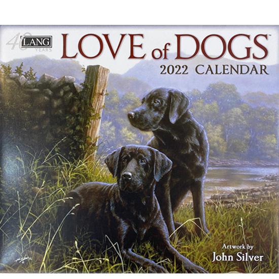 2022年ラングカレンダー「LOVE of DOGS」