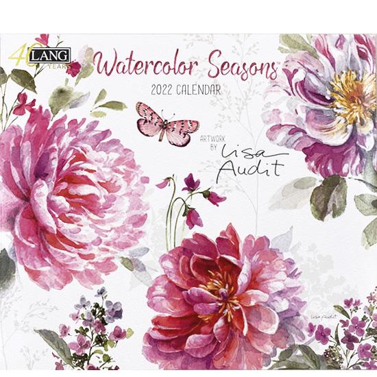 2022年ラングカレンダー「Watercolor Season」