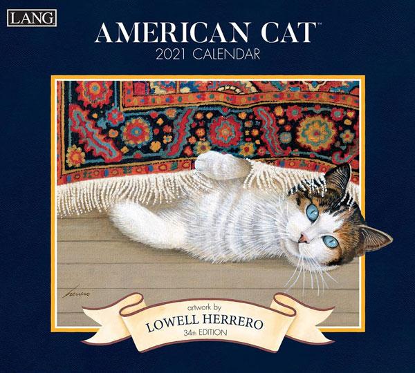 2021年ラングカレンダー「AMERICAN CAT」