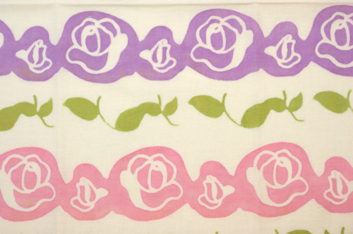 はいから手拭い Mother's Rose