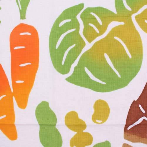 かまわぬてぬぐい「春野菜づくし」