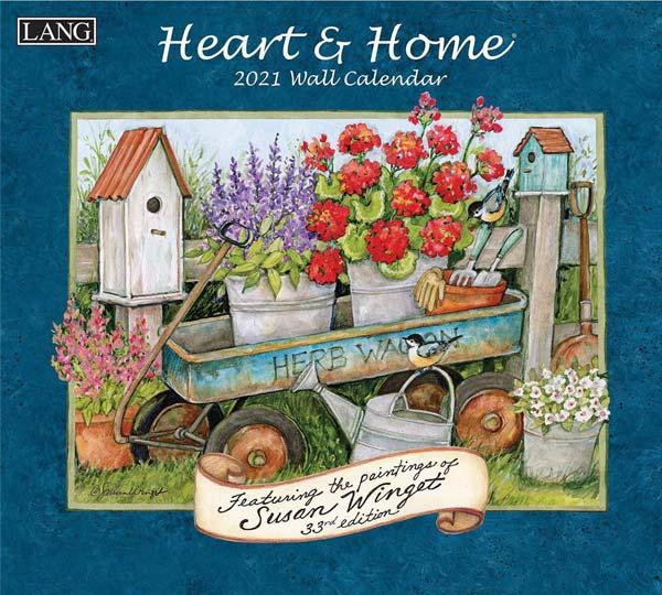 2021年ラングカレンダー「Heart & Home」