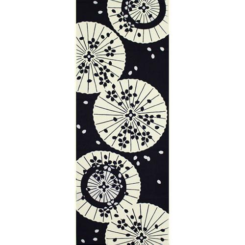 かまわぬてぬぐい「和傘に桜」
