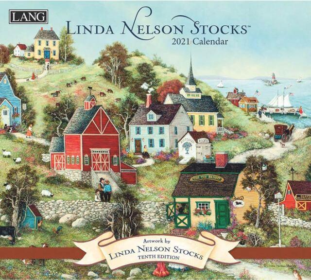 2021年ラングカレンダー「LINDA NELSON STOCKS」