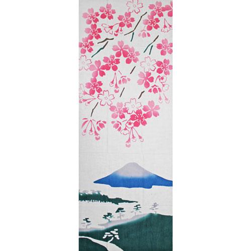 かまわぬてぬぐい「見晴らし桜」