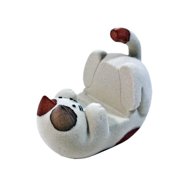 ねころんスマホスタンド 三毛猫
