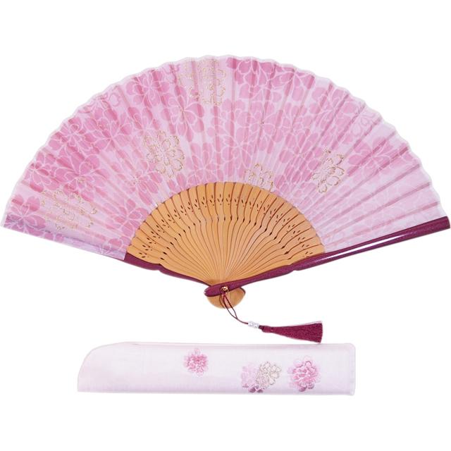 扇子セット 澄桜 ピンク