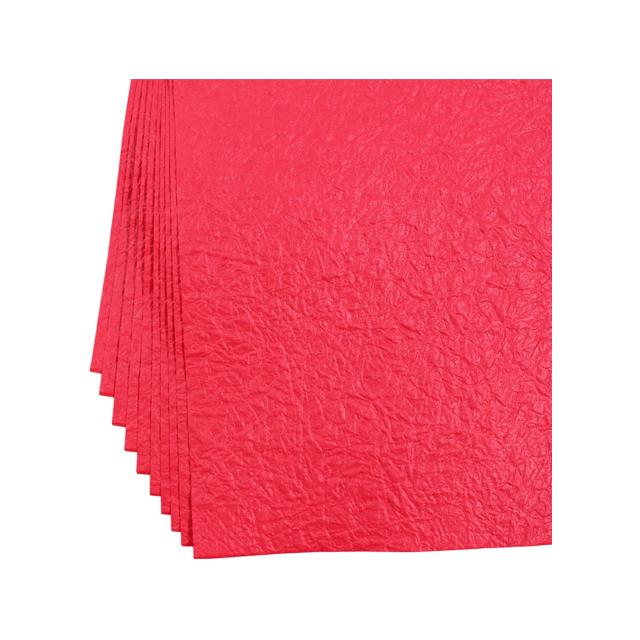 越前ろまんランチョンマット もみ紙 赤