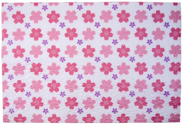 越前和紙 ランチョンマット 桜紋