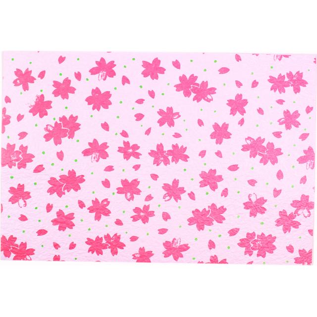 越前和紙 ランチョンマット 桜祭り