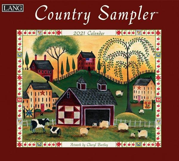 2021年ラングカレンダー「Country Sampler」