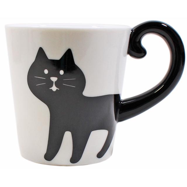 しっぽマグ 黒猫