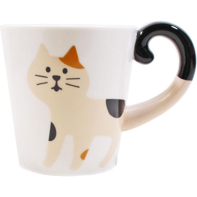 しっぽマグ 三毛猫