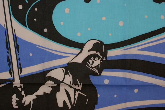 STARWARS 和てぬぐい ヨーダvsダース・ベイダー 力戦奮闘