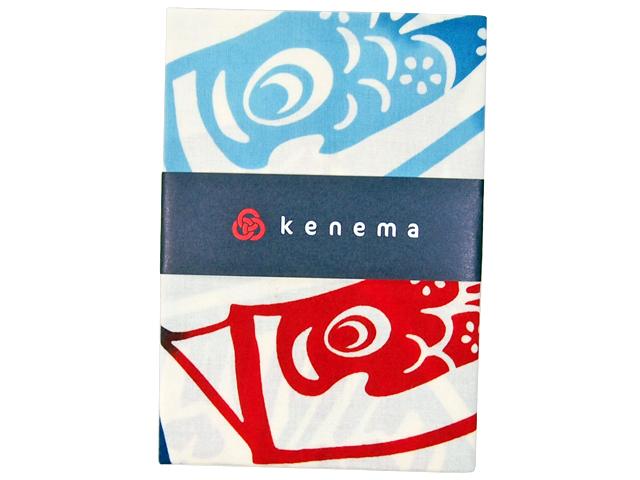 kenema 気音間手拭い 矢羽鯉