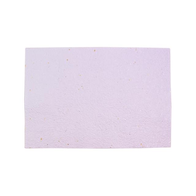 越前ろまんランチョンマット 金銀雲竜もみ紙 白