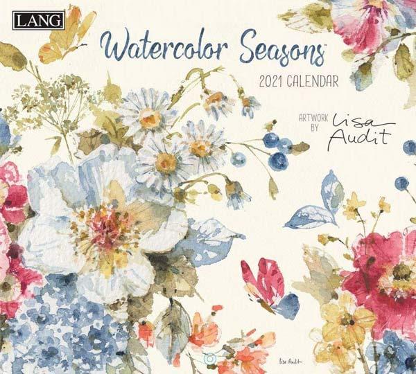 2021年ラングカレンダー「Watercolor Seasons」