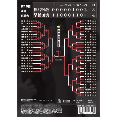2006甲子園・決勝再試合 裏面