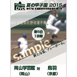 夏の甲子園2015 1回戦 岡山学芸館(岡山) 対 鳥羽(京都)