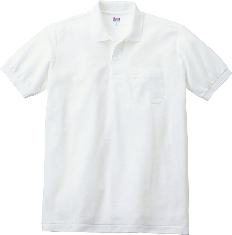 トムス    5.8オンスT/C半袖ポロシャツ(ポケット付き)