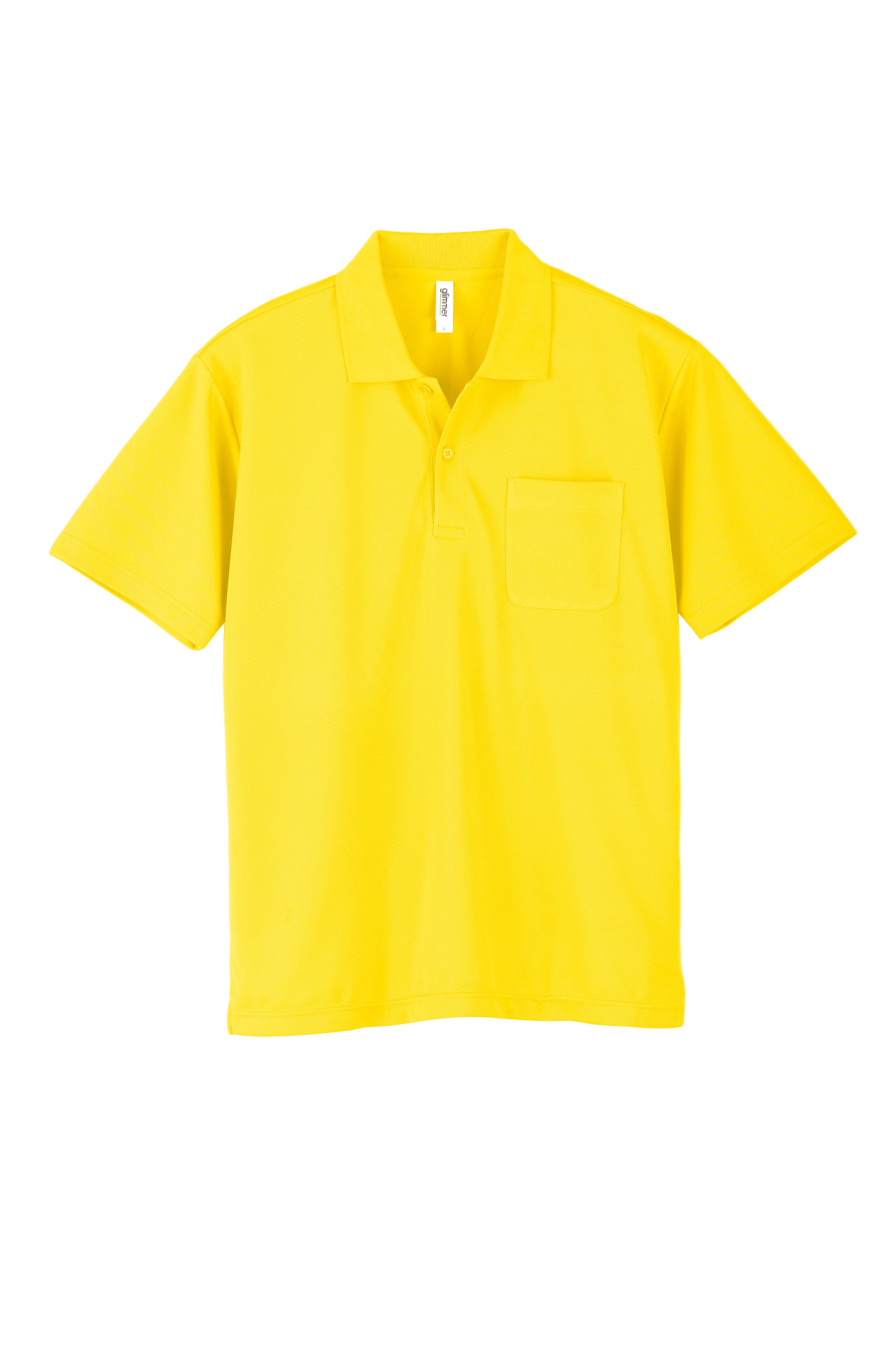 トムス    4.4オンスドライ   半袖ポロシャツ(ポケット有)