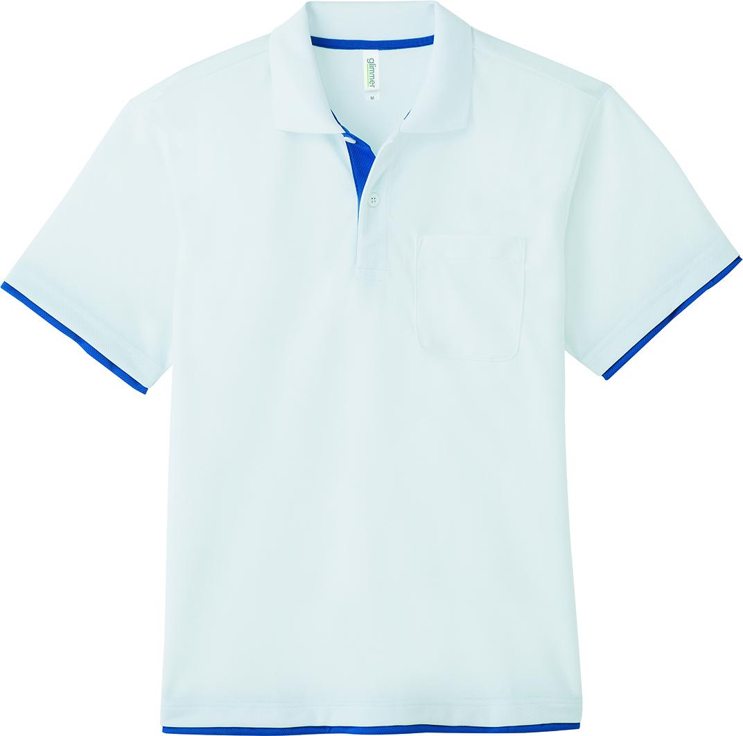 トムス    4.4オンスドライレイヤードポロシャツ(ポケット有)