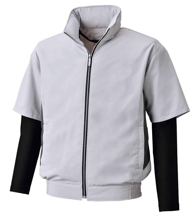 ビッグボーン     BK6059       半袖ジャケット(コンプレッション袖仕様)