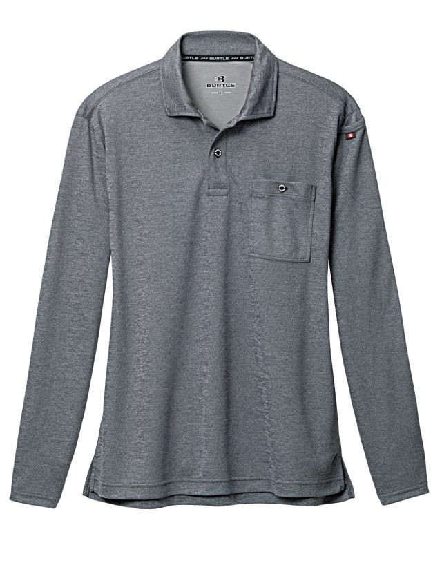 バートル     665    長袖ポロシャツ