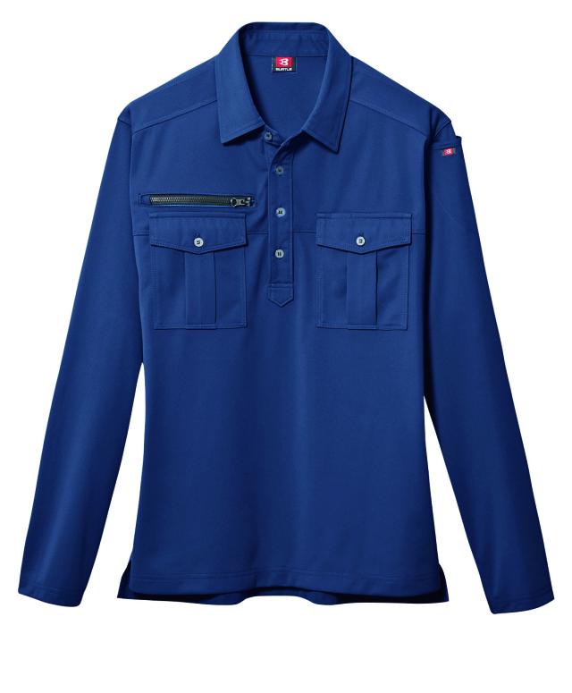 バートル     705     長袖ポロシャツ