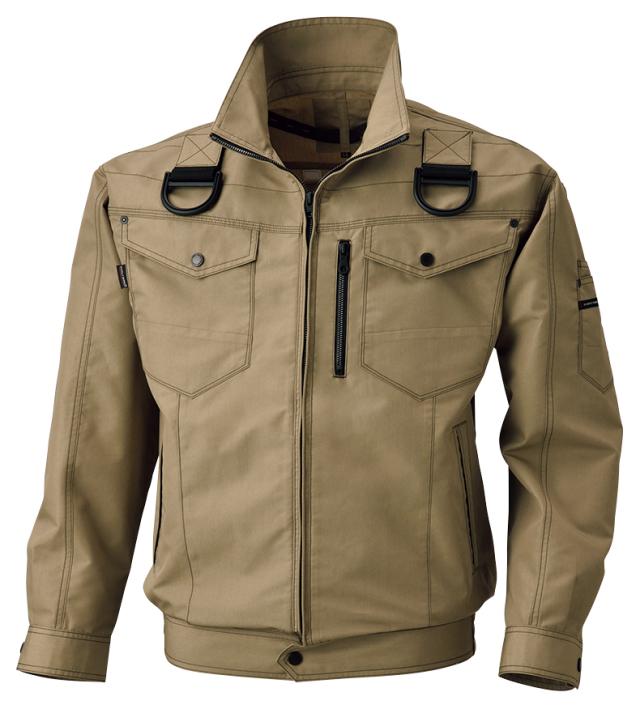 ビッグボーン     BK6037F       フルハーネス用長袖ジャケット