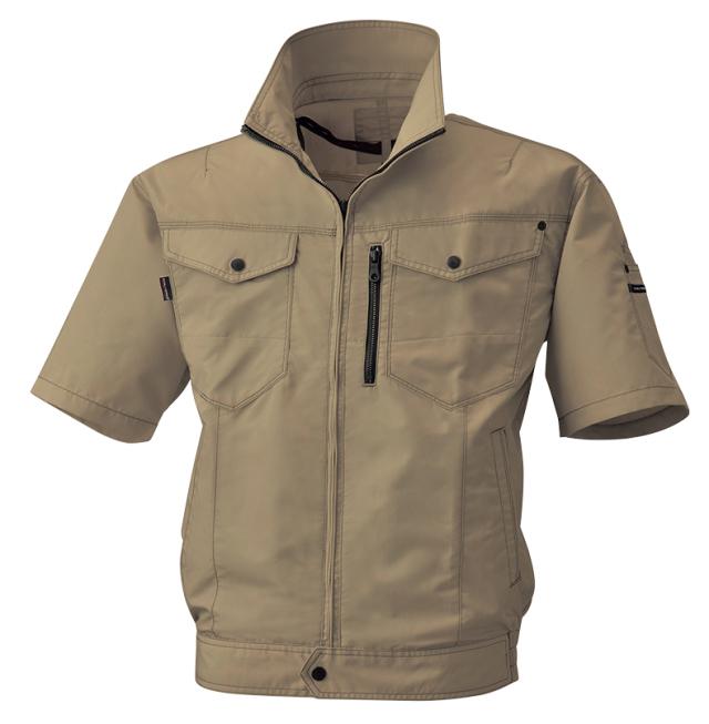 ビッグボーン     bk6078       空調風神服半袖ブルゾン