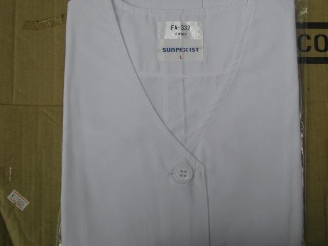 サンペックスイスト     FA330     女子用Vネック衿無し長袖