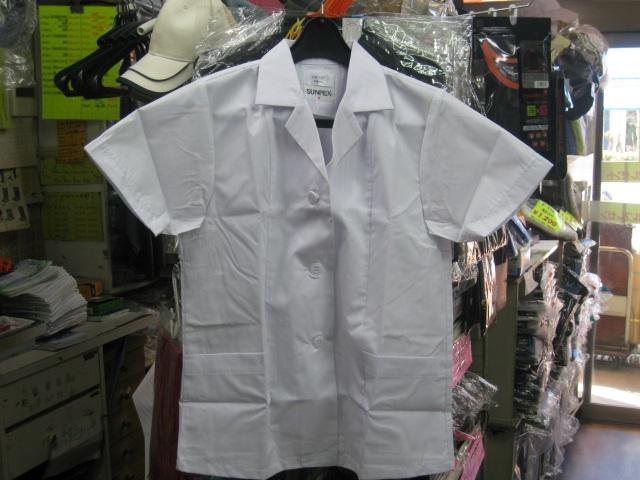 サンペックスイスト     FA337     女子用調理衣半袖