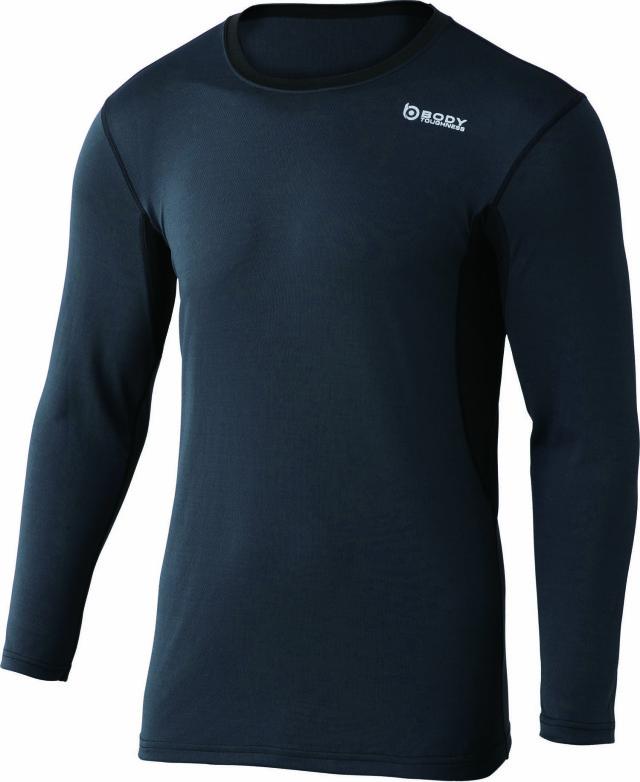 おたふく手袋  BTデュアルメッシュ ロングスリーブ クルーネックシャツ    JW-602