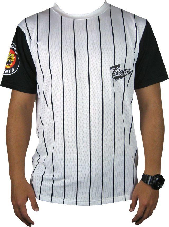阪神タイガース        ストライプTシャツ