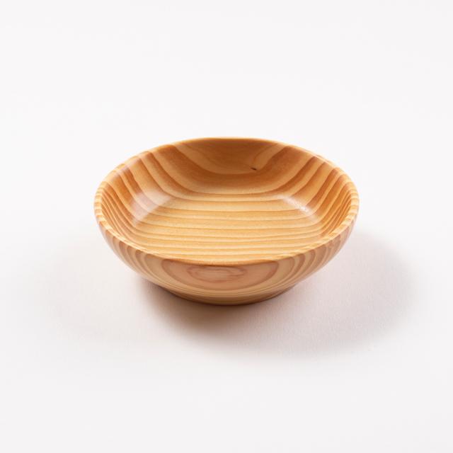 【ベビー用小皿】 赤ちゃん・子供用木製食器 沖縄県産琉球松
