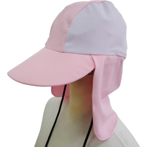 海プール用サンハット:ピンク&ライラック(SS~M)