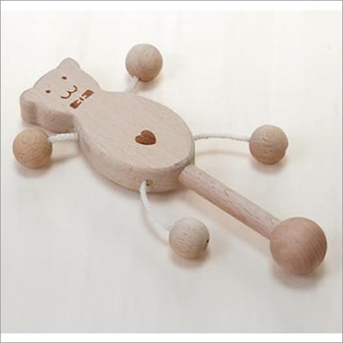 フリフリベアー【木のおもちゃ 赤ちゃん用】出産祝い誕生祝いに名入れもできます