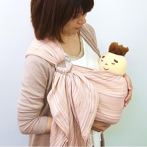 赤ちゃんに安心な沖縄子育て良品のはっぴースリング