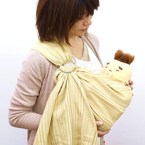沖縄子育て良品のはっぴースリングは赤ちゃんに安心です