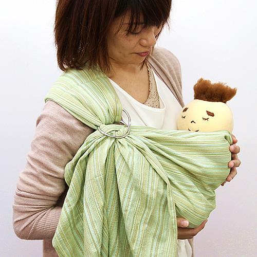 快適設計の抱っこひもは沖縄子育て良品のはっぴースリング