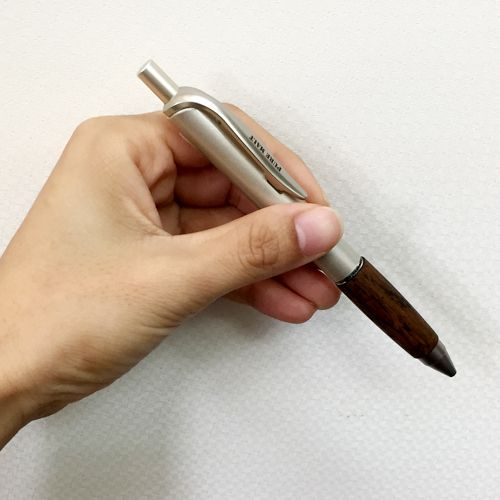 木製ボールペン名前入れ