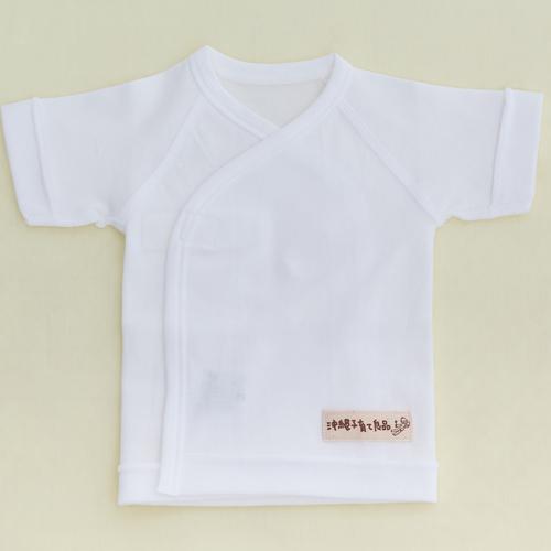 小さい赤ちゃん短肌着スムース