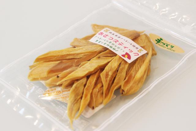 国産材料を使い、丁寧に1つ1つ手作りしています☆徳島県産さつまいもで作った 『さつまいもスティック』 (旧おさつスティック) 80gに増量です☆