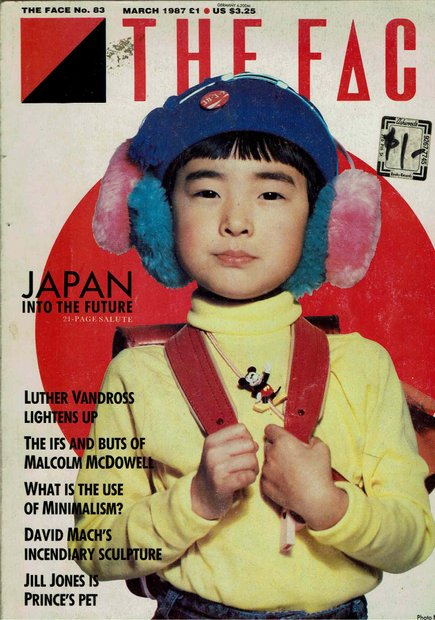 THE FACE MARCH 1987 JAPAN INTO THE FUTURE