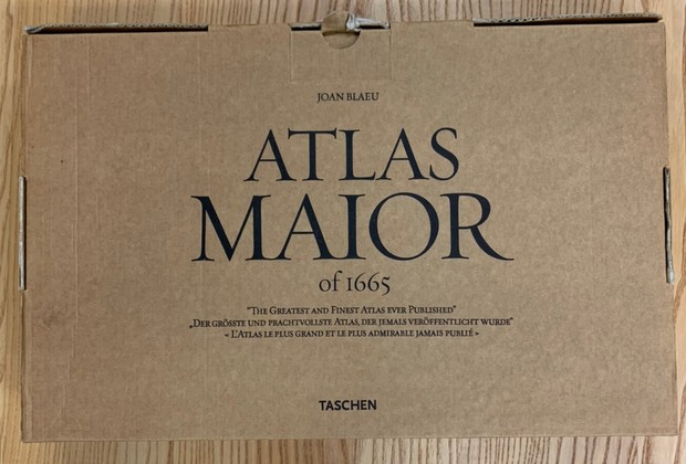 ATLAS MAIOR of 1665 著:Joan Bleau 地図帳 洋書